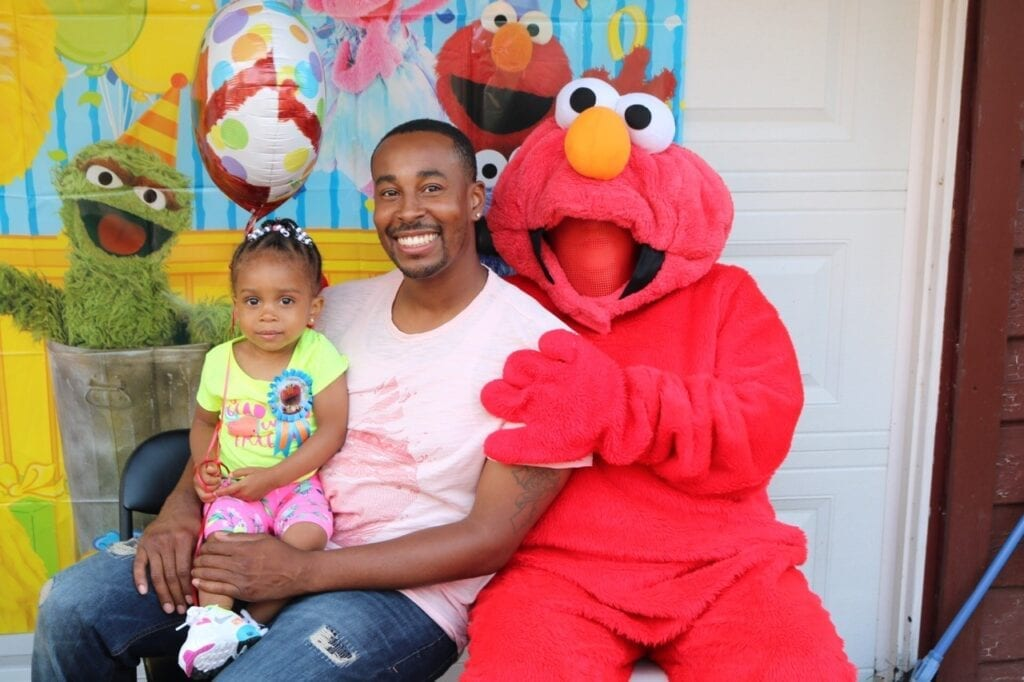 Hire Elmo Party Character